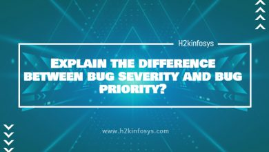Photo of Explain the difference between bug severity and bug priority?