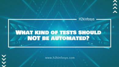 Photo of What kind of tests should NOT be automated?