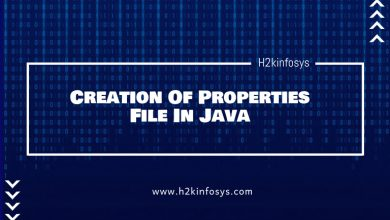 Photo of Creation Of Properties File In Java