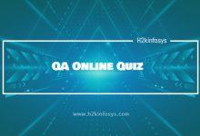 Photo of QA Online Quiz