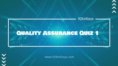Photo of Quality Assurance Quiz 1