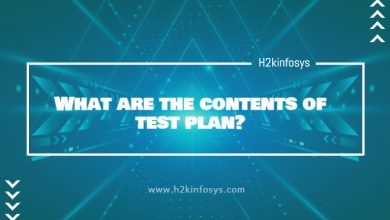 Photo of What are the contents of test plan?