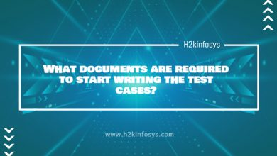 Photo of What documents are required to start writing the test cases?