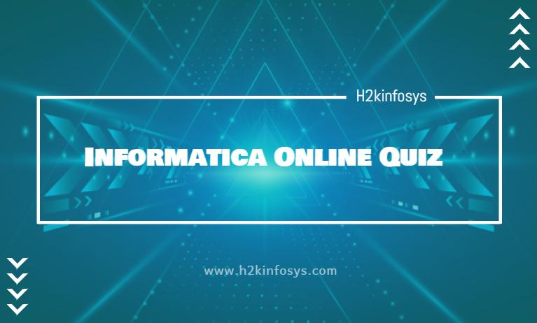 Informatica Online Quiz