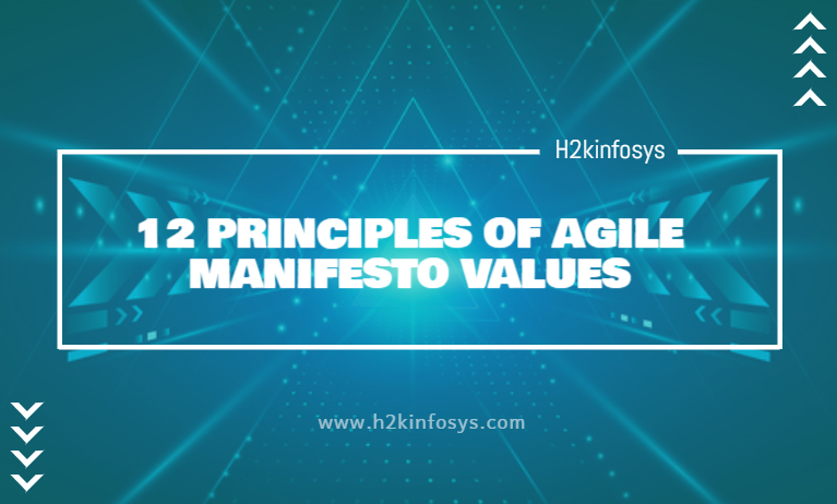 12 PRINCIPLES OF AGILE MANIFESTO VALUES