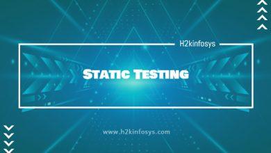 Photo of Static Testing