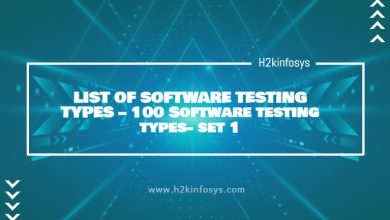 Photo of LIST OF SOFTWARE TESTING TYPES – 100 Software testing types- set 1