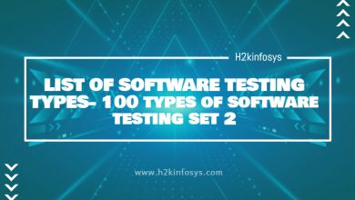 Photo of LIST OF SOFTWARE TESTING TYPES- 100 types of software testing set 2