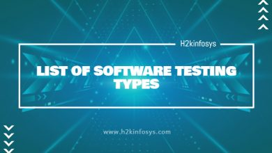 Photo of LIST OF SOFTWARE TESTING TYPES