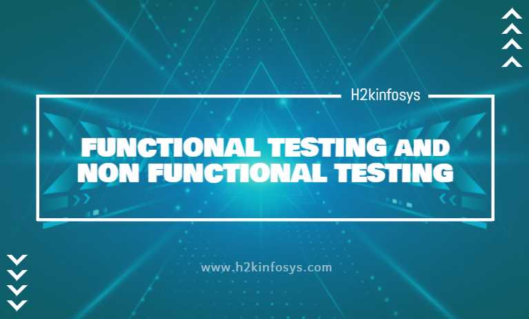 FUNCTIONAL TESTING and NON FUNCTIONAL TESTING
