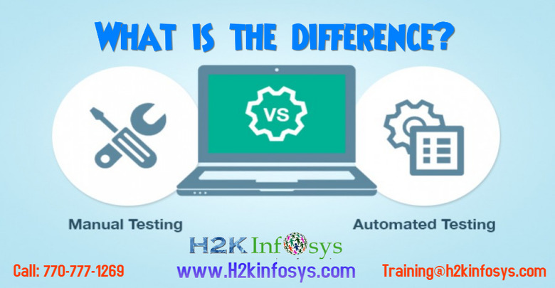 Manual Testing and Automation Testing
