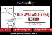 high availability testing
