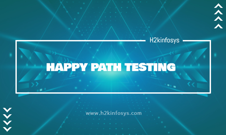 HAPPY PATH TESTING