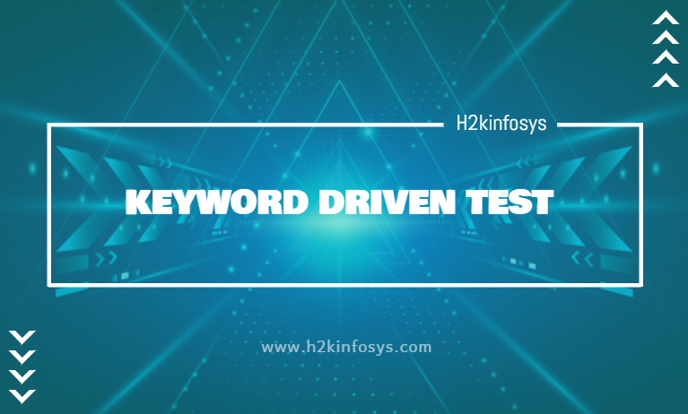 KEYWORD DRIVEN TEST