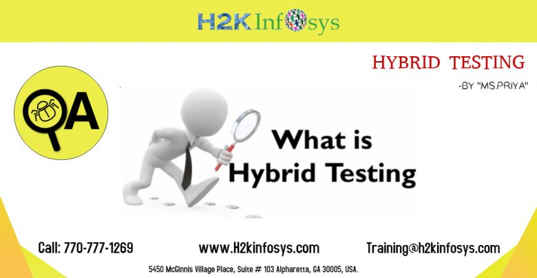 hybrid testing by H2kinfosys