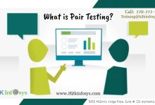 pair testing by h2kinfosys