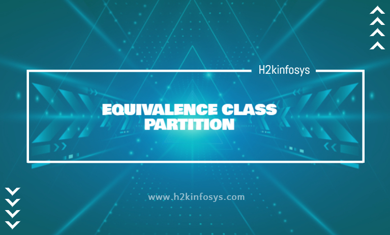 EQUIVALENCE CLASS PARTITION