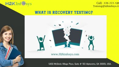 Recovery testing by h2kinfosys