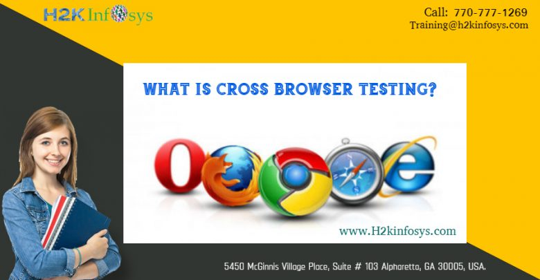 Cross browser testing