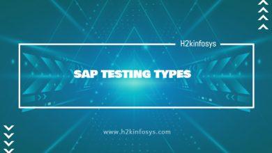Photo of SAP TESTING TYPES