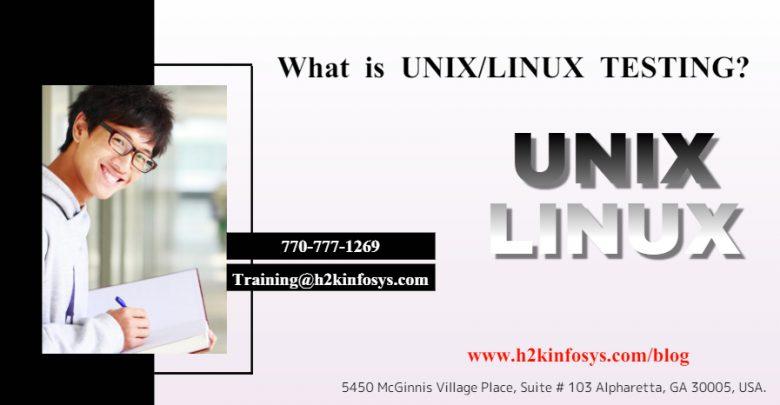 UNIXLINUX TESTING