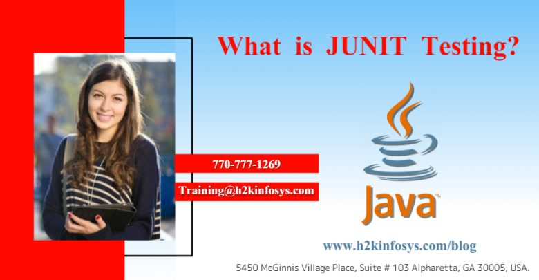 JUNIT TESTING by h2kinfosys