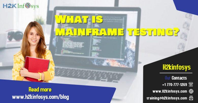 mainframe testing