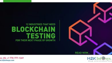 Photo of 12 industries that need blockchain testing for their next phase of growth