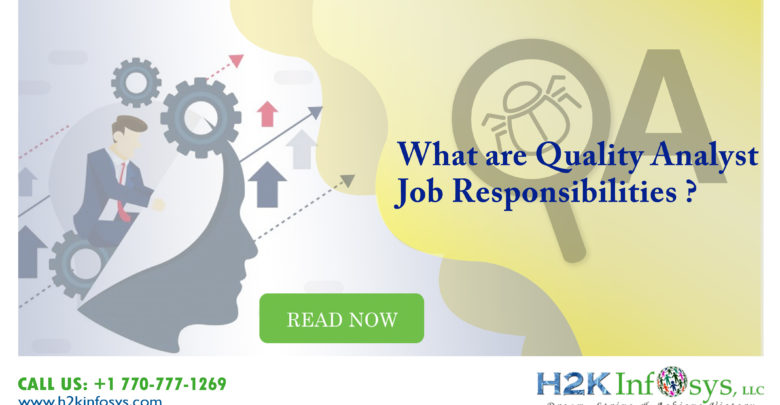 QA Analyst Job Responsibilities