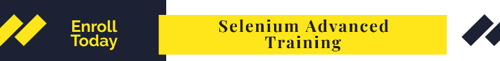 Selenium Advanced Training