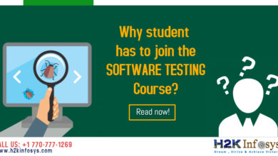 Why student has to join the SOFTWARE TESTING course?