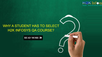 Photo of Why a student has to select H2K INFOSYS QA course?