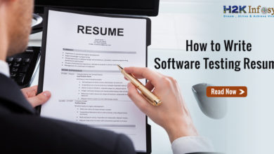 How to write software testing resume