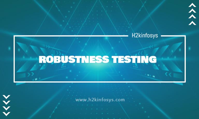 ROBUSTNESS TESTING