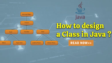 Photo of How to design a Class in Java ?