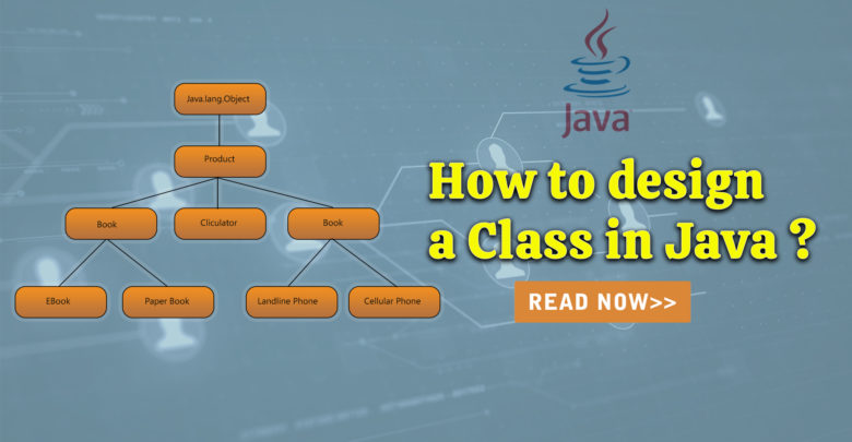 How to design a Class in Java ?