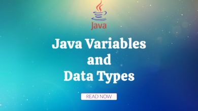 Photo of Java Variables and Data Types