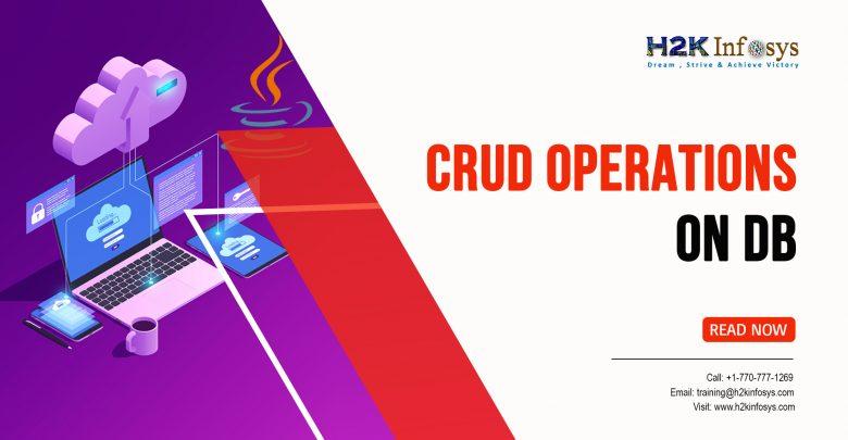 CRUD Operations on DB