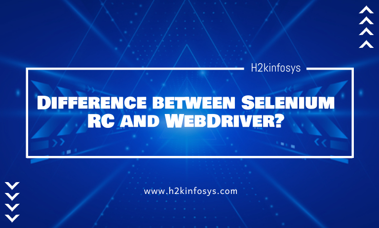 Difference between Selenium RC and WebDriver1