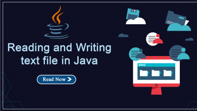 Photo of Reading and Writing text file in Java
