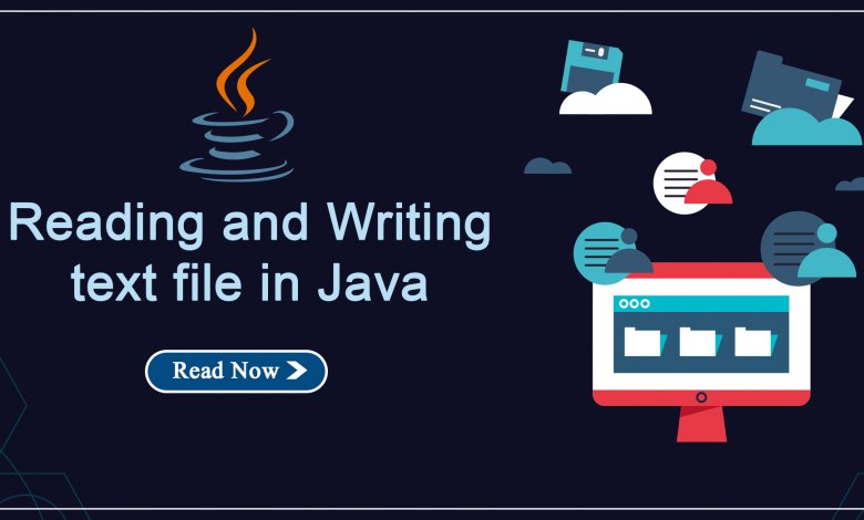 Reading and Writing text file in Java