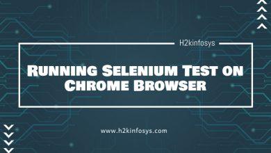 Photo of Running Selenium Test on Chrome Browser