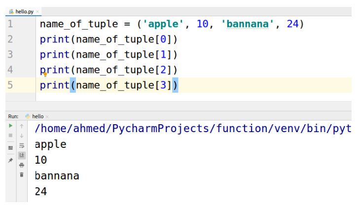 What is Python TUPLE ?