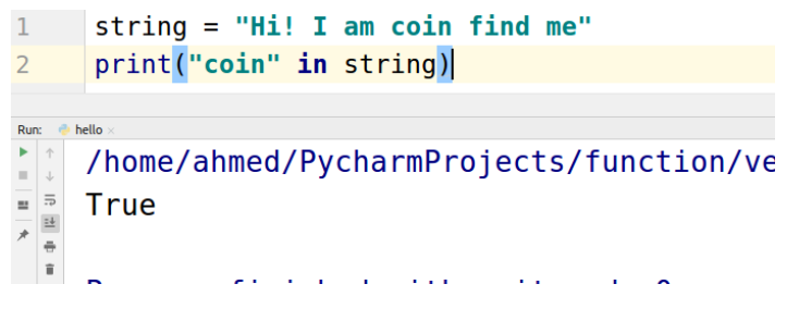 What are Python Strings ?