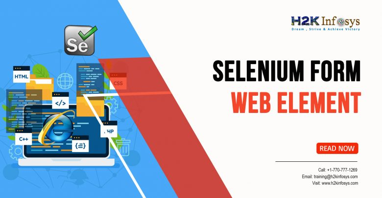 Seleniumm Form WebElement
