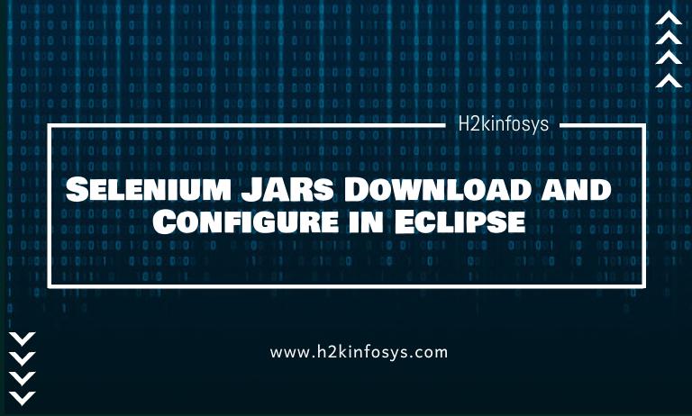Selenium JARs Download and Configure in Eclipse1