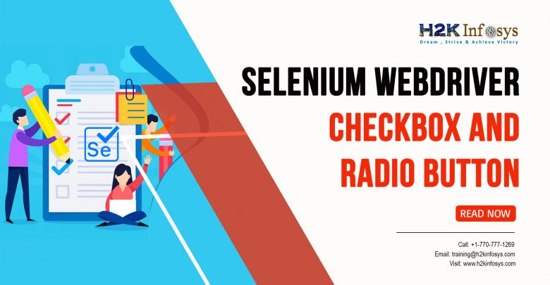 Selecting CheckBox and Radio Button with Selenium WebDriver