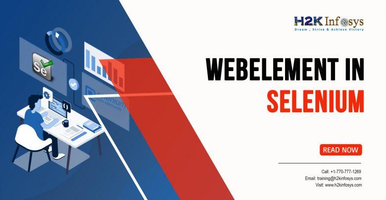WebElement in Selenium