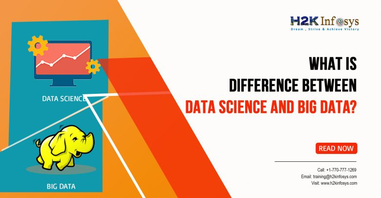 Difference Between Data Science and Big Data?