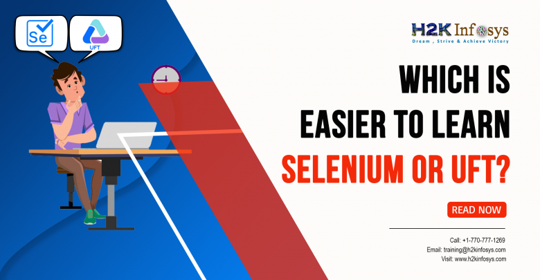 Which is easier to learn, Selenium or UFT?